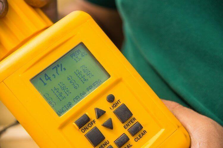 Hygromètre d'humidité