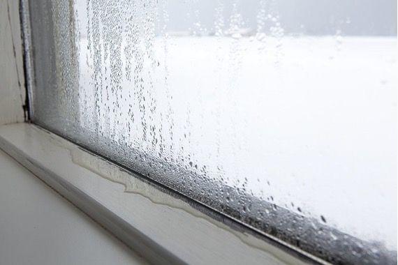 Condensation sur la fenêtre